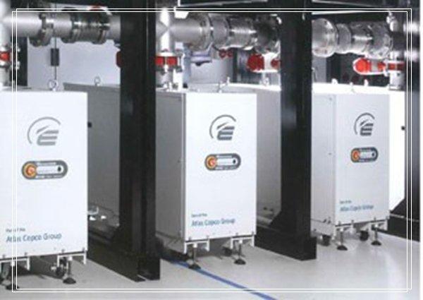 螺杆式真空泵系统