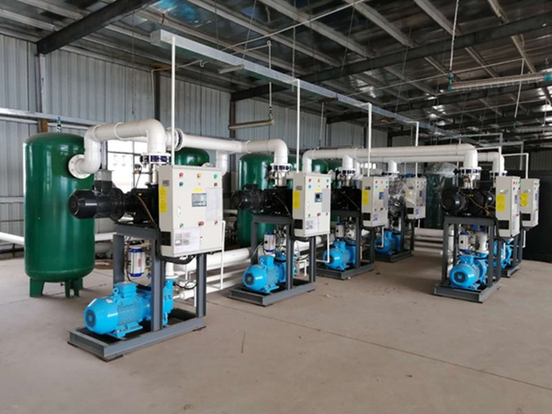 水环式真空泵系统_水环真空泵机组参数