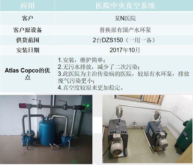 干爪式螺杆真空泵医疗负压系统解决方案
