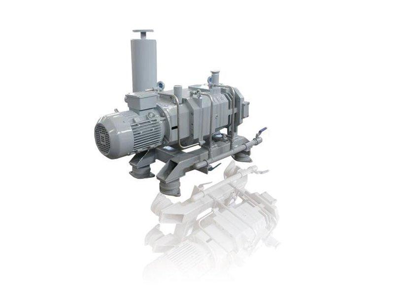 无油等螺距螺杆真空泵 干式螺杆真空泵