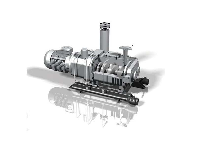 无油变螺距螺杆真空泵 干式螺杆真空泵