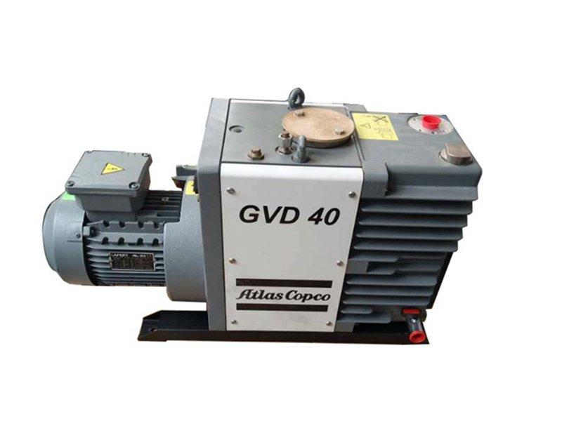 Atlas双级油润滑旋片式真空泵GVD40-GVD275