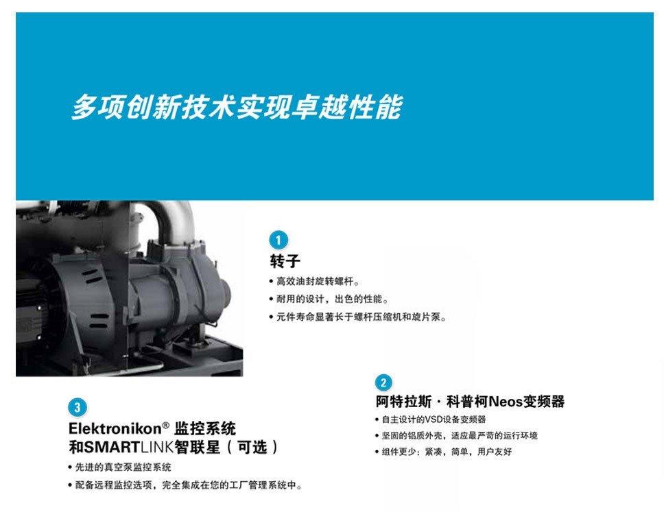 油螺杆式真空泵