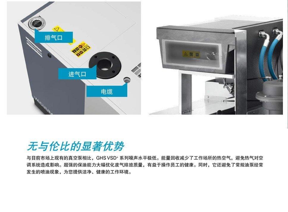 油螺杆真空泵系统GHS350-900VSD+