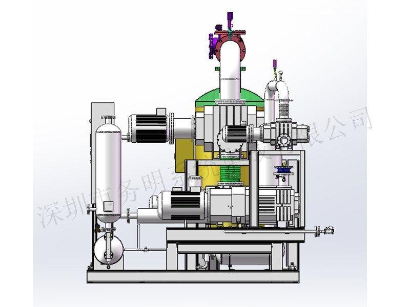 罗茨螺杆真空泵系统原理图