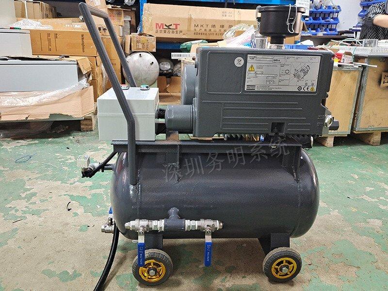 旋片真空泵小车,旋片真空泵机组