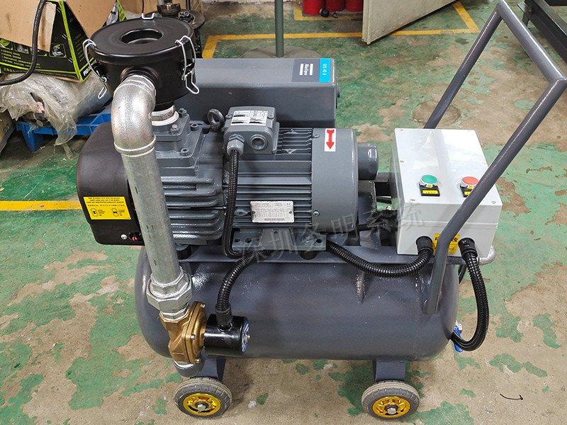 五金小件吸附水环泵改造方案-旋片真空泵小车应用案例