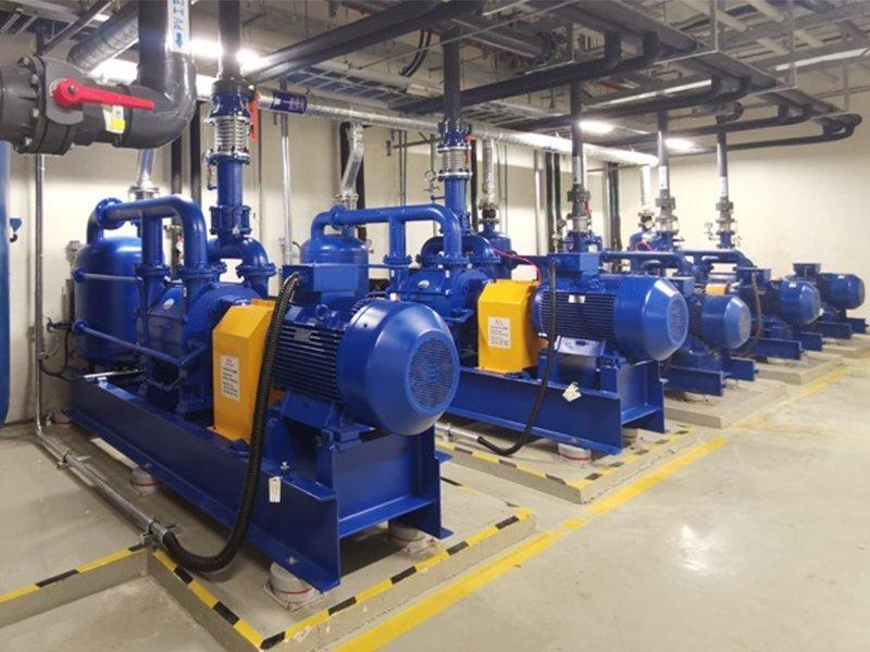 汽车半导体2BE水环真空泵系统解决方案
