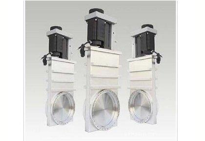 超高真空可调式插板阀 电动 不锈钢