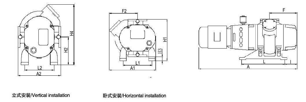 JRP150-2000罗茨泵参数