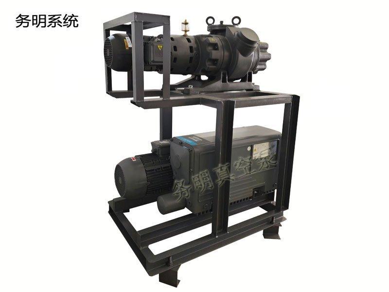 罗茨旋片真空机组 JRP罗茨泵+GVS旋片泵